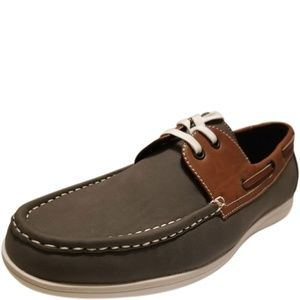 Unlisted by Kenneth Cole Men's Boat Shoes Brown 10